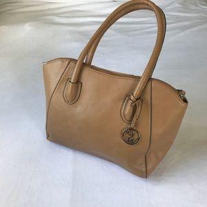 9 West Nine West Like New Tanned Handbag Purse